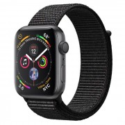 Apple Watch Series 4 GPS 44mm Alluminio Grigio Siderale - Sport Loop Nero