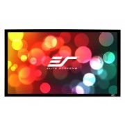Ecran proiectie cu rama fixa, de perete, 243.60 x 136.90 cm,Elitescreens SABLEFRAME ER110WH, Format 16:9