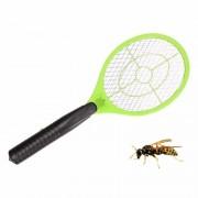 Merkloos Anti wesp/vlieg elektrische vliegenmepper groen