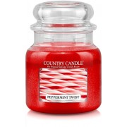 Country Candle Peppermint Twist 2 Wick Medium Jar 453 g