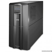 UPS, APC Smart-UPS, 3000VA, LCD, Line-Interactive + подарък APC Service Pack 3 Year Warranty Extension (SMT3000I)