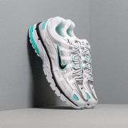 Nike W P-6000 White/ Black-Metallic Silver-Light Aqua