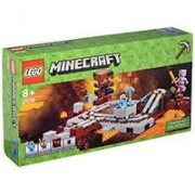 LEGO Minecraft kocke The Nether Railway - Neder železnica 387 delova 21130