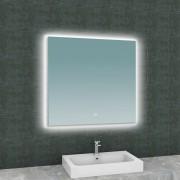 Wiesbaden Spiegel Soul Vierkant met LED Verlichting Backlight 80 cm