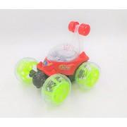 MANAN MANAN Stunt CAR Remote CAR 360 Rotate CAR RED Colour Spider Man