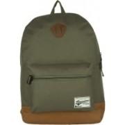 Impulse Single Pocket Green 20 L Laptop Backpack(Green)
