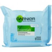 Garnier Essentials Sensitive кърпички за почистване на грим за всички видове кожа, включително и чувствителна 25 бр.