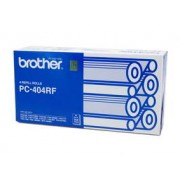 Original Brother PC404 4 x Print refill rolls 144 pages each (PC-404)