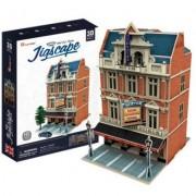 CubicFun Colectia Jigscape Teatrul West End Puzzle 3D 55 de piese