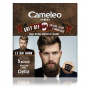 Farba protiv sedih za kosu, bradu i brkove CAMELEO MEN 5.0 svetlo braon 2x15ml