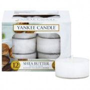 Yankee Candle Shea Butter vela do chá 12 x 9,8 g