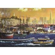 Puzzle Jumbo - Port of San Francisco, USA, 1.000 piese (18552)