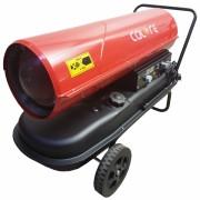 Tun de caldura cu ardere directa D50T CALORE, putere 50kW, debit aer 1100mcb/h, combustibil motorina, 230V, termostat digital.