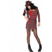 Halloween - Halloween Freddy kostuum voor dames - horror verkleedpak 38 (M)