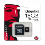 MicroSDHC Kingston 16GB class 10 UHS-1
