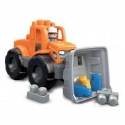 Mb Camión De Volteo Transformable Naranja