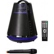Boxa Portabila Akai ABTS-605B, 25W, Radio FM, Microfon, Bluetooth (Negru)