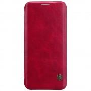 Nillkin Qin Samsung Galaxy S8+ leren boekhoesje rood