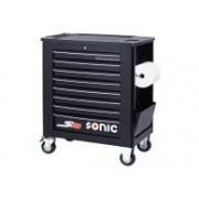 SONIC Equipment SONIC gereedschapswagen S10 zwart
