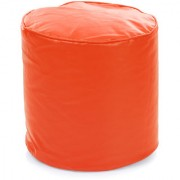 Home Story Round Ottoman Medium Size Orange Cover Only