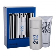 Carolina Herrera 212 NYC Men confezione regalo Eau de Toilette 100 ml + gel dopobarba 100 ml da uomo