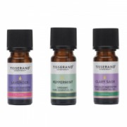 Uleiuri esentiale ameliorarea Simptomelor la Menopauza 100 Pure ulei Salvie Menta Lavanda de la Tisserand Aromatherapy Set 3 buc