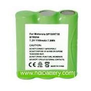 Batería para walkie talkie MOTOROLA SP10/HT10 7,2V/1100mAh