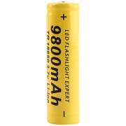 ER 18650 3.7V 9800mAh Batería Recargable Li-ion Para Linterna Antorcha