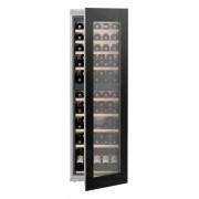 Vitrină de vin încorporabilă EWTgb 3583, 271 L, 83 sticle, Alarmă uşă, Display, Control electronic, Iluminare LED, Rafturi lemn, H 178 cm, Clasa A