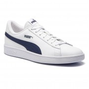 Puma Sneakersy PUMA - Smash V2 L 365215 02 Puma White/Peacoat