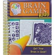 Brain Games Kids, Grade 4, Get Your Brains In Gear