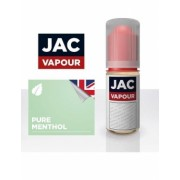 Lichid Tigara Electronica Premium Jac Vapour Pure Menthol 10ml, Nicotina 12mg/ml, 70%VG 30%PG, Fabricat in UK