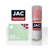 Lichid Tigara Electronica Premium Jac Vapour Pure Menthol 10ml, cu Nicotina, VG/PG, Fabricat in UK