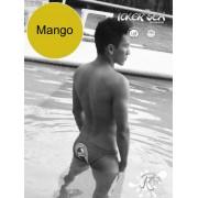 Icker Sea Lifeguard Micro Slip Bikini Swimwear Mango COB-13-10