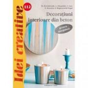 Decoratiuni interioare din beton pentru incepatori. Idei creative 112