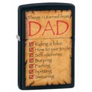 Zippo Zapalniczka 28372 Things Learned from Dad