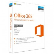 Microsoft Office 365 Personal, 1Y, IT (in abbinata con un PC)