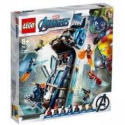 Конструктор Лего Супер Хироус - Битката в Avengers Tower - LEGO Marvel Super Heroes, 76166