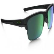 Oakley THINLINK Round Sunglass(Grey, Green)