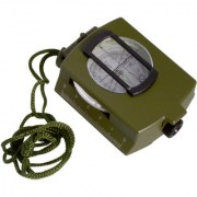 Big Size 3 in 1 Military Hiking Camping Lens Lensatic Magnetic Compass - 33A