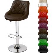 Cadeira de Bar Requinte c/ Rotação de 360° e Altura Ajustável