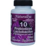 Probioticos 10 c/120 capsulas 20 Mil Millones