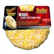 """Pad blana polish - Wool Light Cutting Pad 7"""" Meguiar's"""