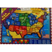 U.S.A. Map Puzzle
