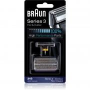 Braun Series 3 31S CombiPack Foil & Cutter planžeta a stříhací lišta 31S
