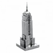 Set asamblare macheta metalica Empire State Building - Metal Earth