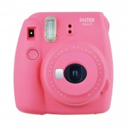 Fujifilm Instax Mini 9 Camera with 10 Shots - Flamingo Pink