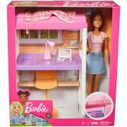 Set de joaca Barbie Mattel Mobila si accesorii dormitor