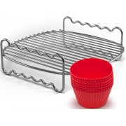 Philips Grillrost »+ Muffincups, HD9904/01 Party-Kit«