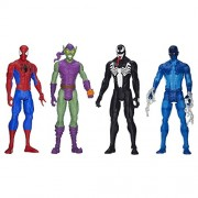 """Ultimate Spider Man Vs Sinister 6 Titan Hero Series Exclusive 12"""" Action Figure 4 Pack"""
